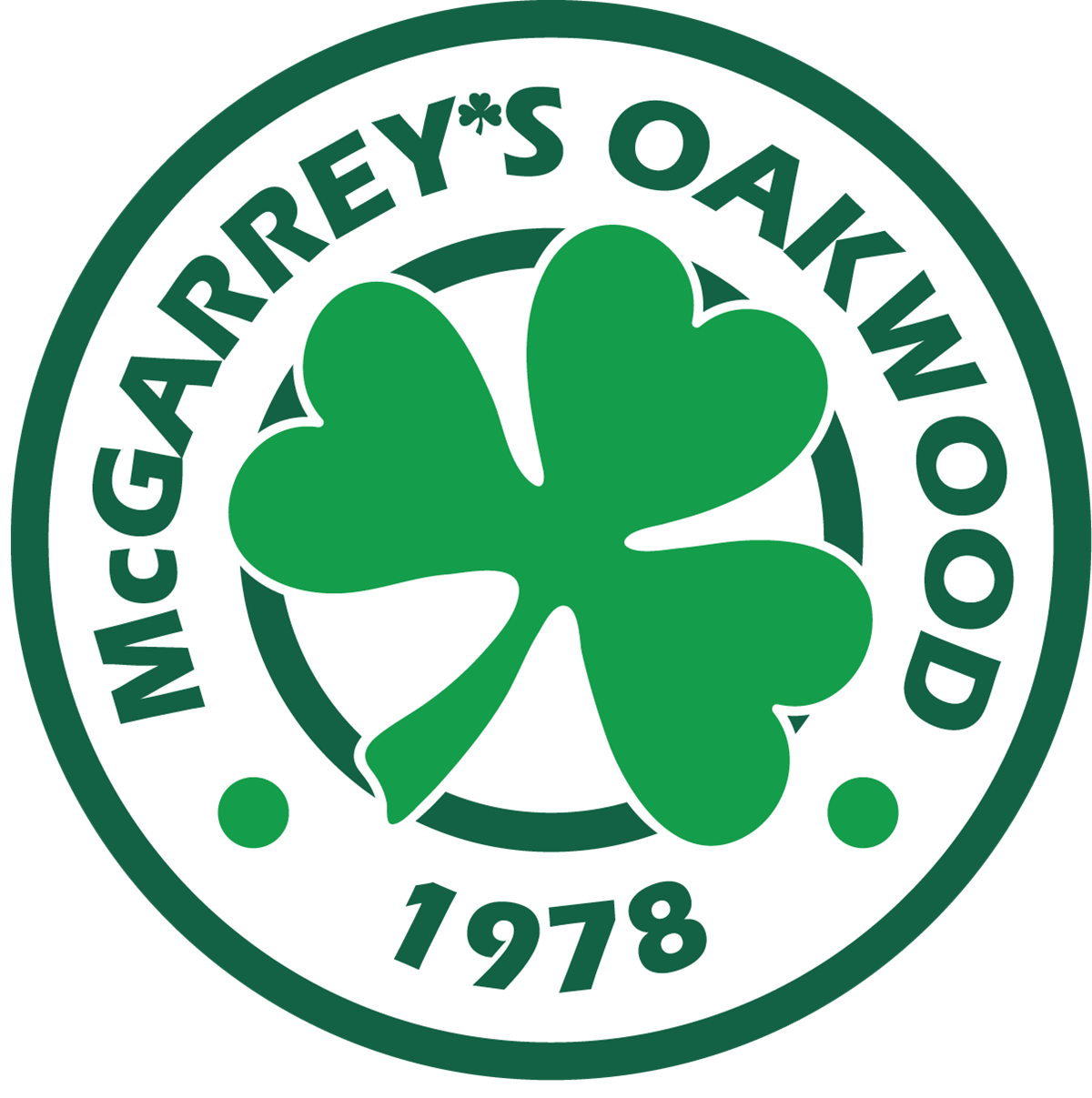 McGarrey's Oakwood Cafe - Homepage